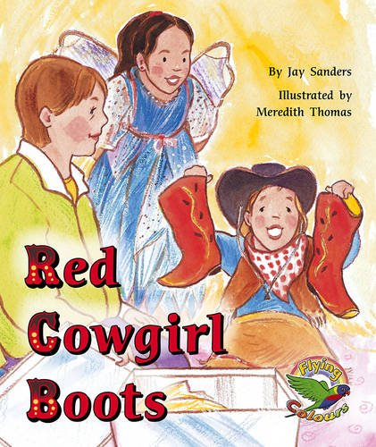 9780170112901: Red Cowgirl Boots (Flying colours)
