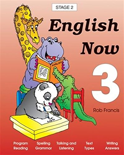 9780170116312: English Now: Student Book Year 3