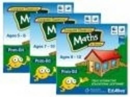 9780170117043: Maths at Home 5-8: Mathematics Grade 1-2 (Computer Classroom at Home)