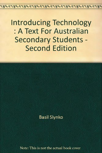 9780170122009: Introducing Technology : A Text For Australian Secondary Students - Second Edition