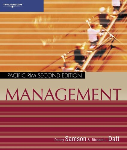 Management (0170122689) by Danny Samson; Richard L. Daft