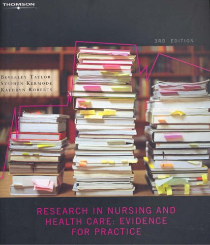 9780170123150: Research in Nursing and Health Care: Creating Evidence for Practice
