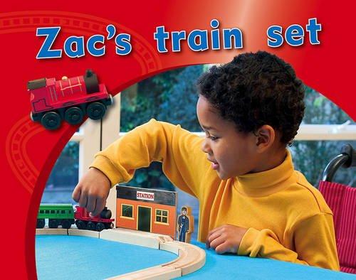 9780170123211: Zac's Train Set PM Photo Stories Magenta Levels 3,4