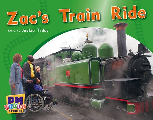 9780170123419: Zac's Train Ride PM Photo Stories Yellow Levels 6,7,8