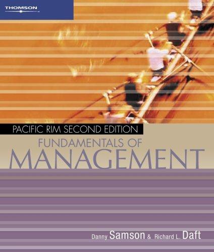 9780170124713: Fundamentals of Management: Pacific Rim