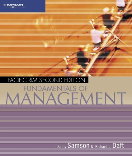 9780170124713: Fundamentals of Management: Pacific Rim