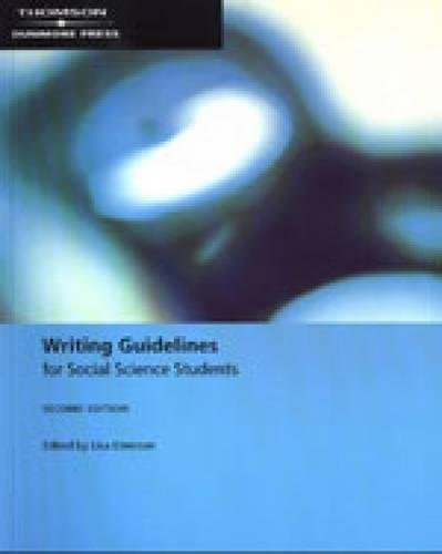 9780170128452: Writing Guidelines for Social Science Students