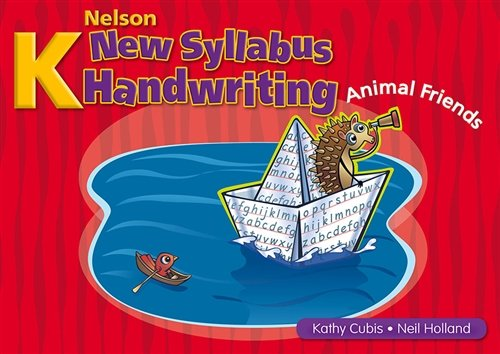 9780170128681: Nelson New Syllabus Handwriting for NSW Book K