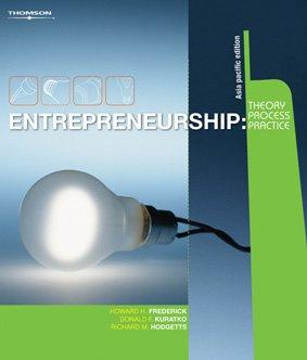 9780170128803: Entrepreneurship Theory Process Practice