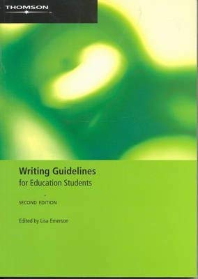 9780170130042: Writing Guidelines for Education Students