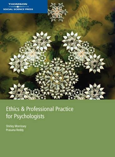 9780170131469: Ethics and Professional Practice for Psychologists