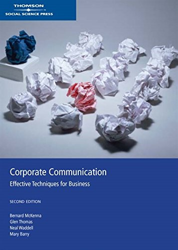 9780170134293: Corporate Communications : Effective Techniques for Business