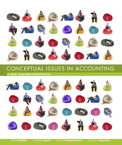 9780170134316: Conceptual Issues in Accounting: A New Zealand Perspective