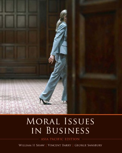 Moral Issues in Business (0170135764) by [???]