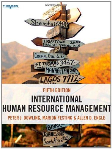 International Human Resource Management Managing People in: DOWLING (PETER J.)