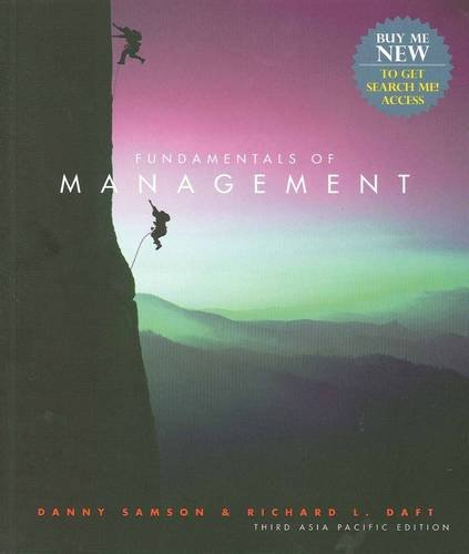 9780170160063: Fundamentals of Management: Asia Pacific Edition + Global Economic Crisis GEC Resource Center Printed Access Card