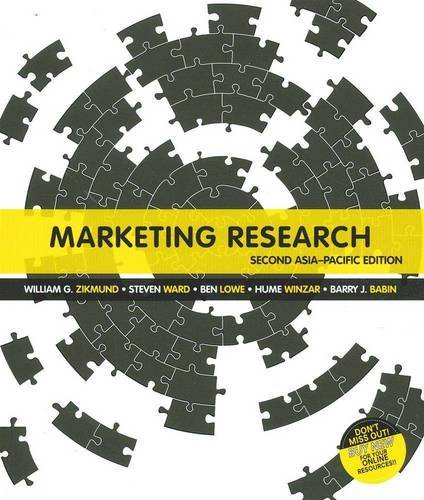 9780170183345: Marketing Research: Asia Pacific Edition with Student Resource Access 12 Months