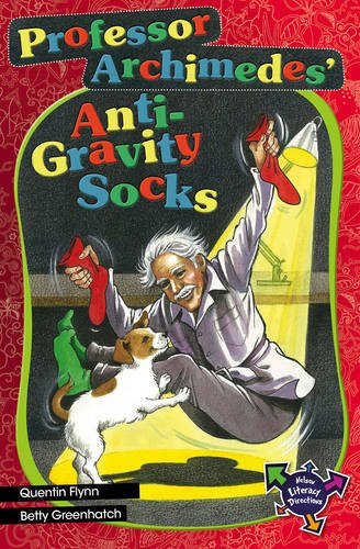 9780170183635: Professor Archimedes Anti-Gravity Socks Socks