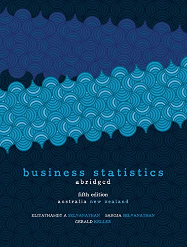 9780170184816: Business Statistics - Abridged: Australia New Zealand Edition with Student Resource Access 12 Months