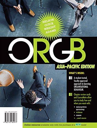 9780170184977: ORGB