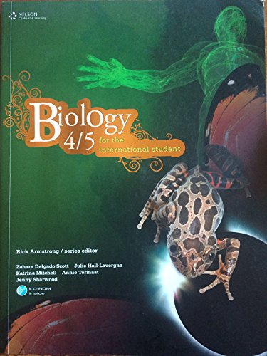 9780170185110: Biology 4/5 for the International Student