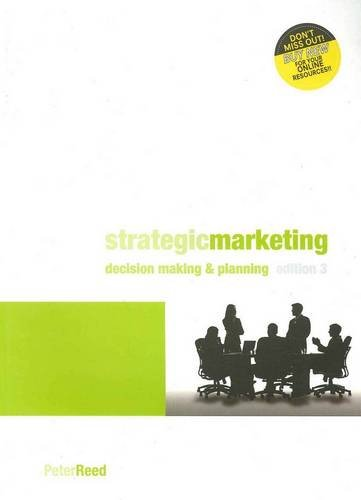 9780170185325: Strategic Marketing: Decision Making and Planning