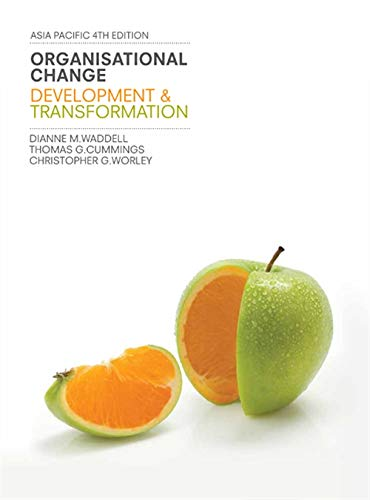 9780170185950: Organisational Change: Development and Transformation with Student Resource Access 12 Months
