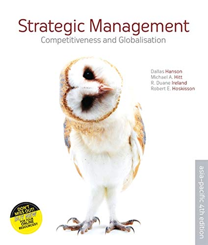 9780170186285: Strategic Management Competitiveness and Globalisation