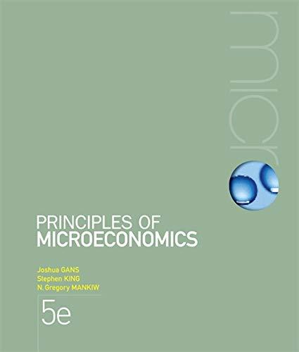 9780170191708: Principles of Microeconomics