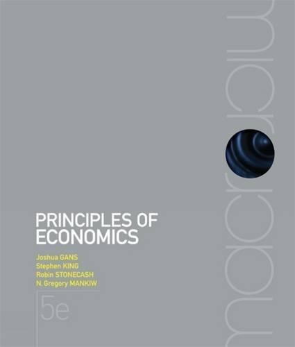 9780170191722: Principles of Economics