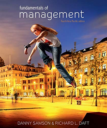 Fundamentals of Management: Asia Pacific Edition with