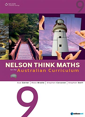 9780170195010: Nelson Think Maths 9 Student Book Plus Access Card for 4 Years