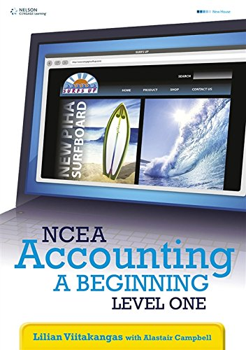 9780170211055: NCEA Accounting, a Beginning: Level One