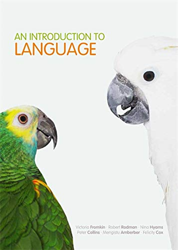 9780170212984: An Introduction to Language