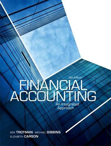 9780170214414: Financial Accounting: An Integrated Approach