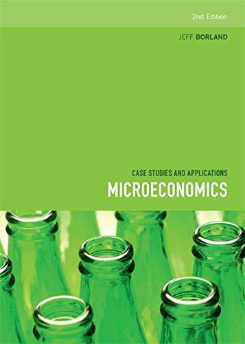 9780170225441: Microeconomics: Case studies and applications