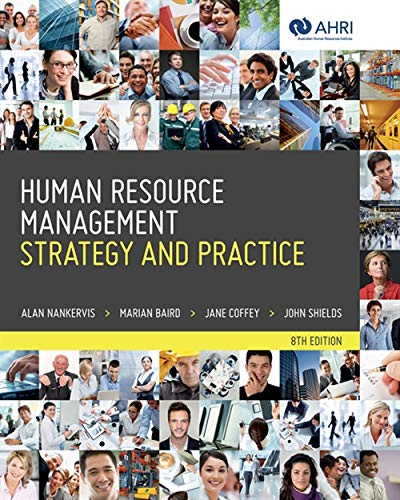 9780170233668: Human Resource Management: Strategy and Practice