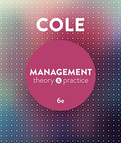 9780170354059: Management Theory and Practice