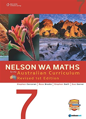 9780170361910: Nelson Wa Maths for the Australian Curriculum 7 Revised Edition