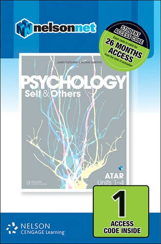 9780170366144: Psychology: Self and Others Atar Units 1-4 1-Code Access Card