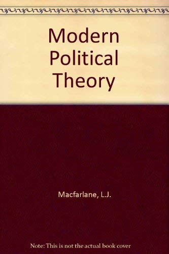 9780171380361: Modern Political Theory (Nelson political science series)