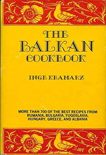 9780171400816: Balkan Cookbook (International cook book series)