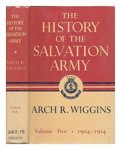 9780171440454: History of the Salvation Army: 1904-14 v. 5