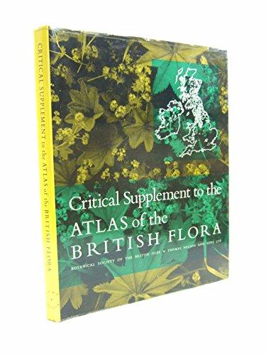 9780171470185: Atlas of the British Flora: Critical Supplement