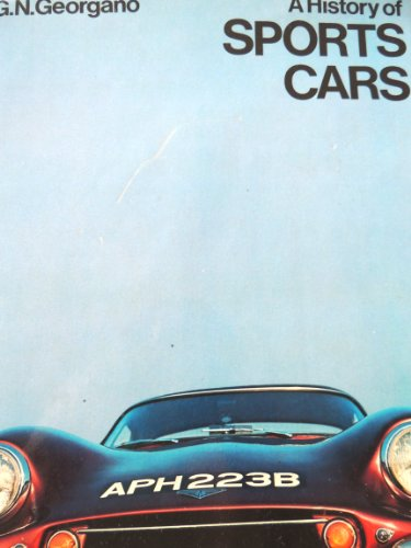 9780171480245: A history OF SPORTS CARS