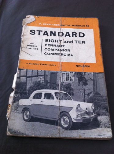 9780171600582: Handbook for the Standard Eight and Ten : Pennant, Companion, Commercials from 1953 (Sunday Times series No.58)