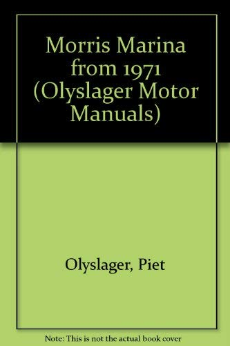 9780171601237: Morris Marina from 1971 (Olyslager Motor Manuals)