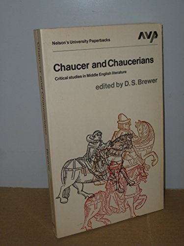 9780171700084: Chaucer and Chaucerians (Nelson's university paperbacks)