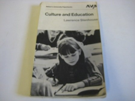 9780171700114: Culture and education (Nelson's university paperbacks)