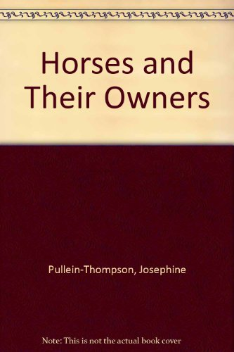 9780172210056: Horses and Their Owners